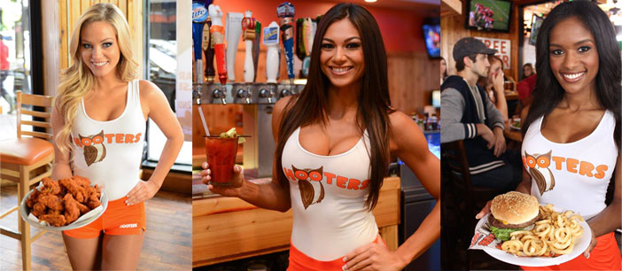 serveuses Hooters