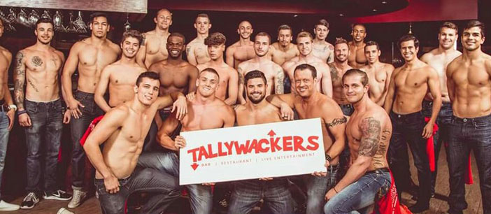 The entire team posing Tallywackers