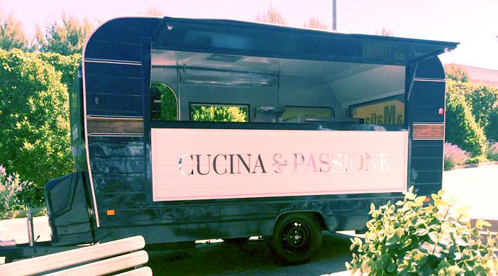 El food truck del los restaurantes la mafia