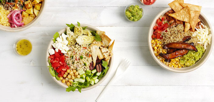 Restaurant salads Eatsa