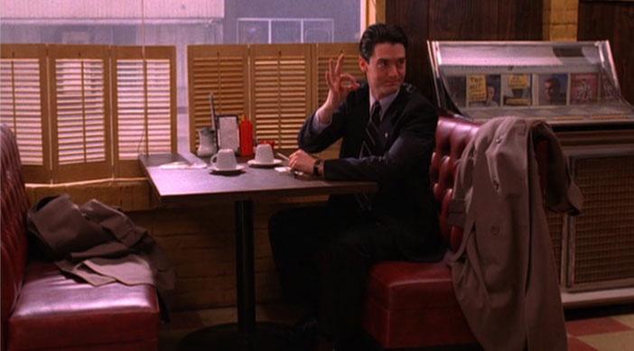El agente Cooper en Twin Peaks