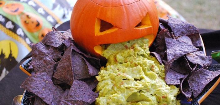 Plats pour la décoration d'Halloween