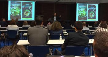 Diego Coquillat en Sinergia, la I Jornada empresarial del congreso San Sebastián Gastronomika