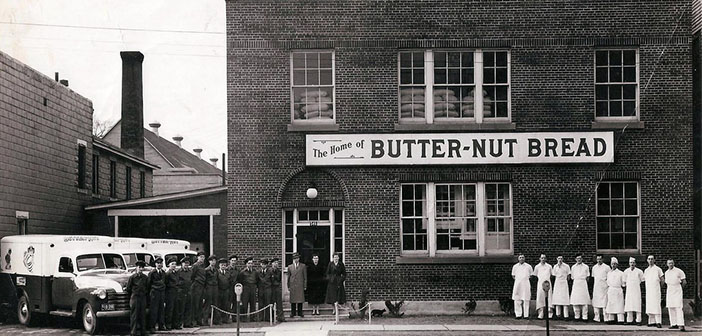 The home where was born the nut bread butter