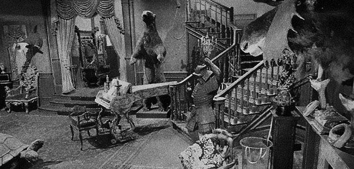 El salón de la familia Addams