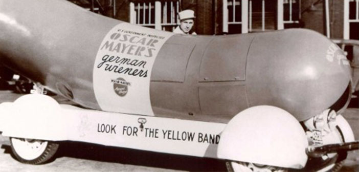 Oscar Mayer foodtruck 1936