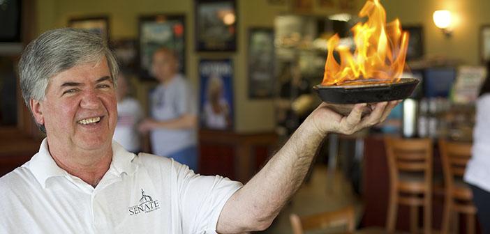 George Dimopoulos chef y su restaurante solidario