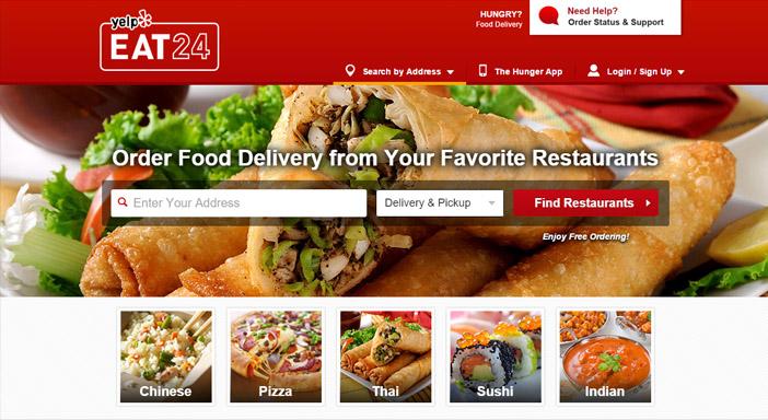 Eat24 comida online