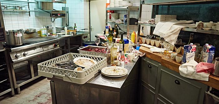 Empleados y restaurantes