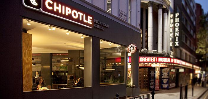 un restaurant Chipotle