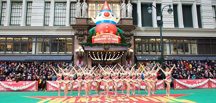 Desfile de acción de gracias de Macy´s Day Parade