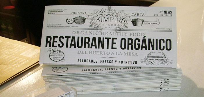 The menu Kimpira