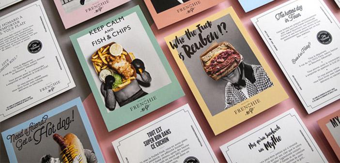 Business cards for restaurants