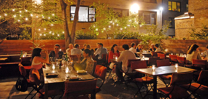 Restaurante Vegetariano en New York