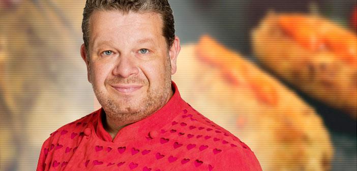 The TV chef Alberto Chicote