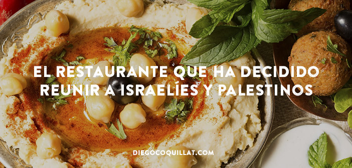 Descuento en un restaurante por comer juntos israelíes y palestinos