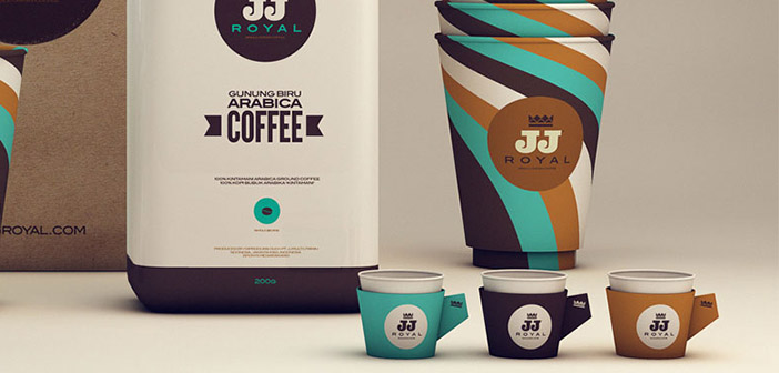 JJ royal ofrece, à la fois physiquement et en ligne, de nombreux types de cafés