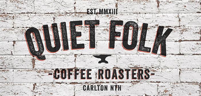 Quiet Folk featured designer Andrew Clark for the entire corporate image