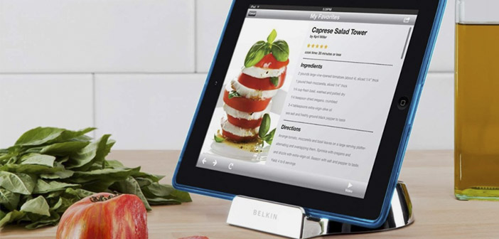 Gadgets para tablets de cocina