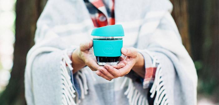 tasses à café Jococups conçu pour respecter l'environnement
