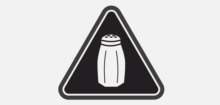New York all the dishes containing more than 2.300 milligrams of sodium must bear this in his letter icon