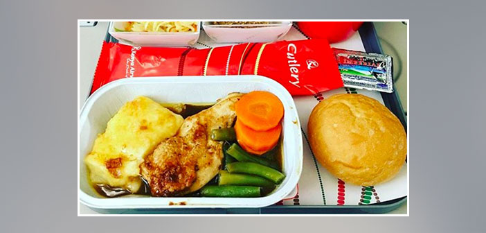 Kenya-Airlines---Dinner-in-economy-class