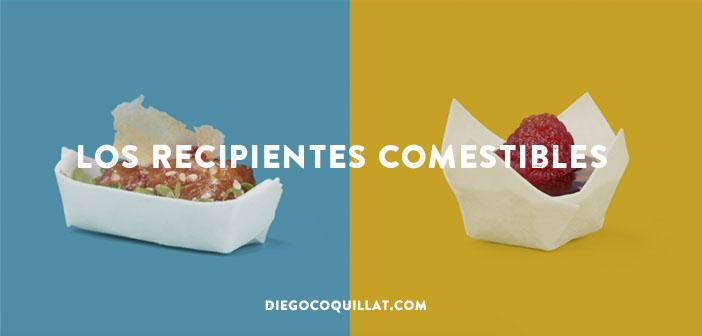 Los recipientes comestibles, lo último en envases reciclables para restaurantes