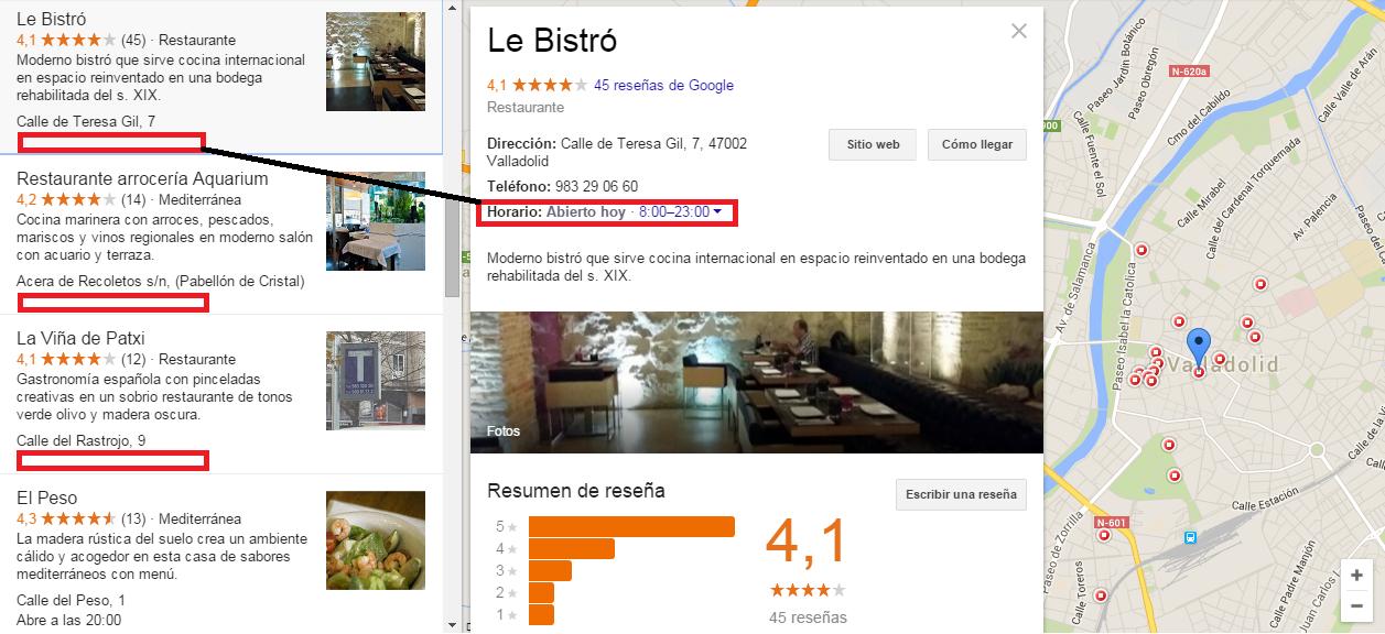 Restaurant Valladolid