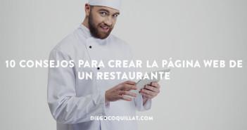 10 consejos para crear la página web de un restaurante