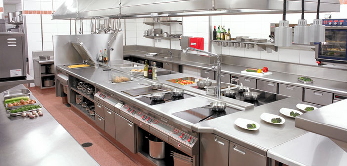 el diseo de la cocina del restaurante que ante todo debe ser prctica funcional - Como Disear Una Cocina