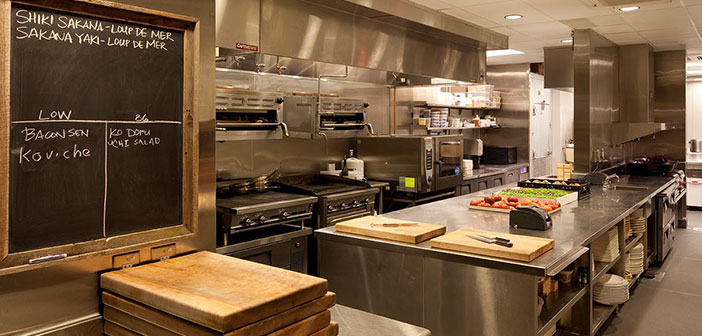 en todas las cocinas profesionales tenemos dos tipos de zonas claramente diferenciadas como son las zonas - Como Disear Una Cocina