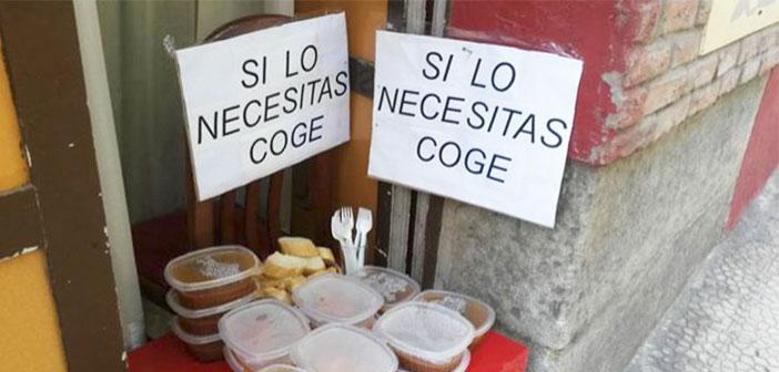En Espagne, tous les restaurants prend la moyenne 3.000 kilos de nourriture par an.