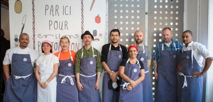 Des chefs réputés pour le restaurant Google.