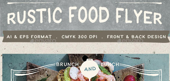 Rustic-Food-Promo-Flyer-Template