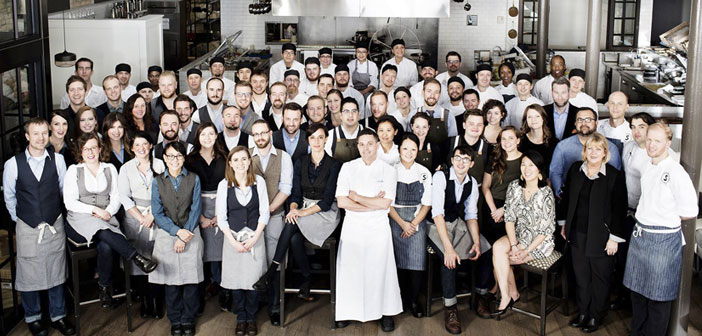 El gran equipo del restaurante Spoon & Stable