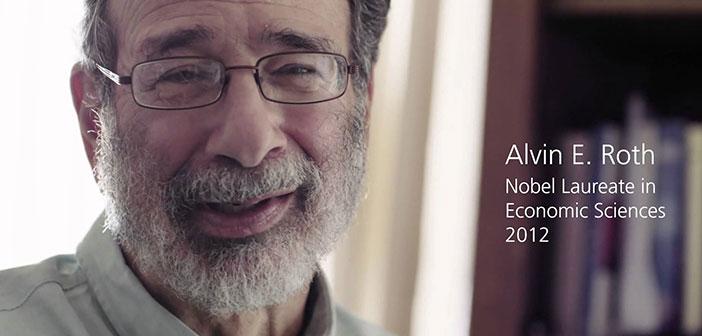 Alvin E.Roth, Prix Nobel d'économie 2012 et professeur à l'Université de Harvard, qui consacre sa vie à la recherche sur la théorie des jeux et économie expérimentale.