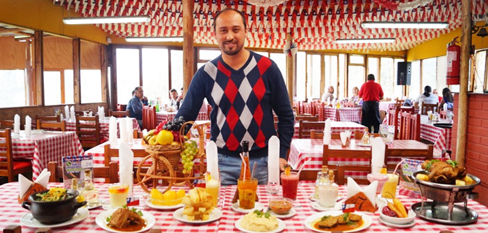 Andrés Lisboa, This Business Administrator is currently a successful restaurateur in his native Chile, where from 2011 runs the restaurant Sabor Campo.