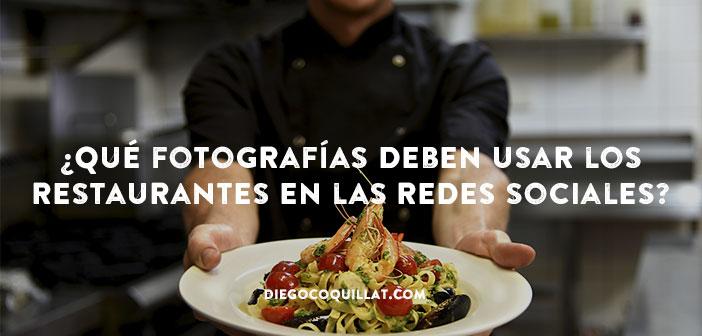 ¿Qué fotografías deben usar los restaurantes en las redes sociales?