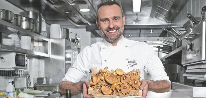 Rodrigo de la Calle, one of the most renowned Spanish chefs of Spanish culinary scene. further, It is also one of the standards of healthy food while maintaining the present and future trend is more and eat healthier.