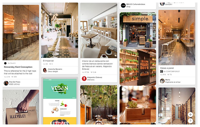 Pinterest n'a pas sa place dans les images de qualité faible ou moyenne prise avec le téléphone mobile que parfois les utilisateurs postent sur Facebook, Twitter le Instagram inclus.