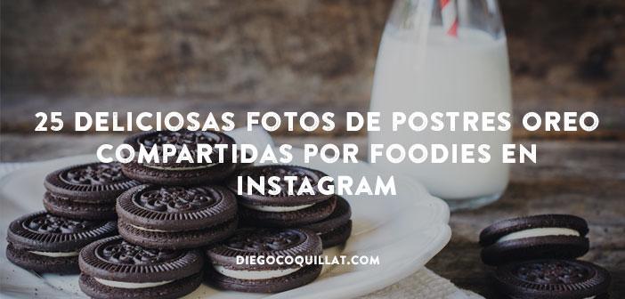 25 deliciosas fotos de postres Oreo compartidas por foodies en Instagram
