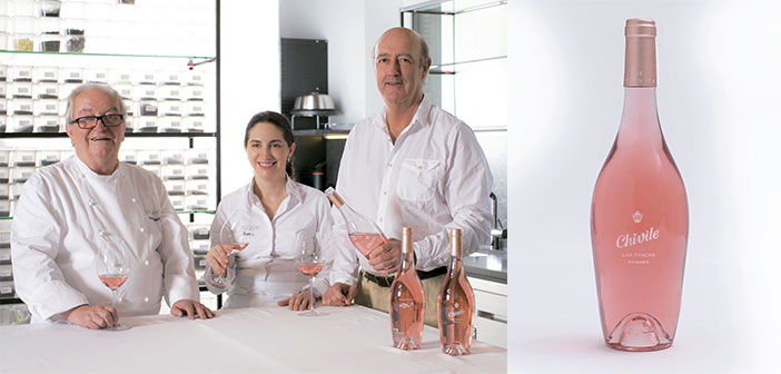The signs put two large industry: Chivite, large producer of quality wines; and chef Juan Mari Arzak, a lover of pink wines.