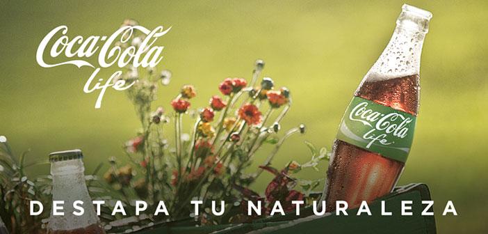 Alternativas con edulcorante o stevia como es el caso de Coca-Cola Life, un producto lanzado en el año 2013 para Argentina y Chile, y que ya se deja ver por otros países.