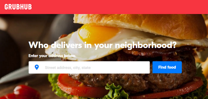 GrubHub is one of the great leaders that US restaurants use to manage orders that make from mobile customers.