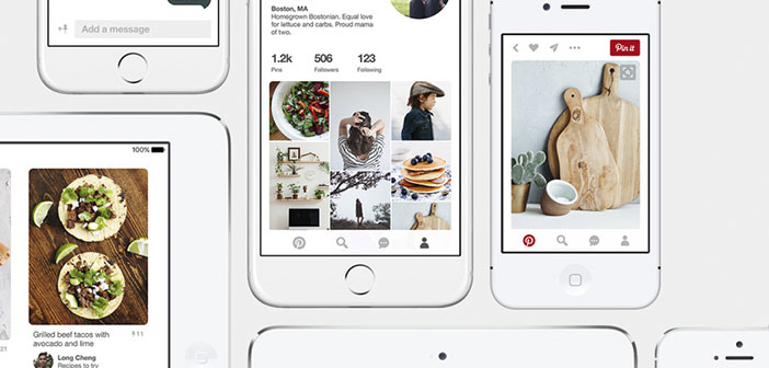 Pinterest is a platform for sharing images that allows users to create and manage, Personal thematic boards, image collections such as events, interests, hobbies and more.