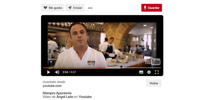Siempre Aponiente Vídeo de Ángel León en Youtube