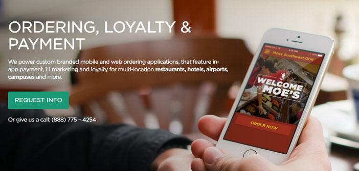 Splick-ce serait un cas différent, Ici, il est engagé principalement à l'utilisation d'applications mobiles, si la plate-forme Splick-propre basé sur ou vous avez déjà le restaurant.