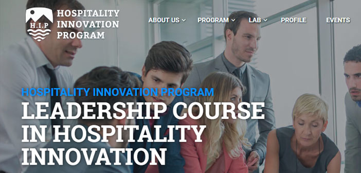 BOS is one of the main training blocks intensive program of weeklong Hospitality Innovation Program (HIP) to be held in Marbella next 31 October.