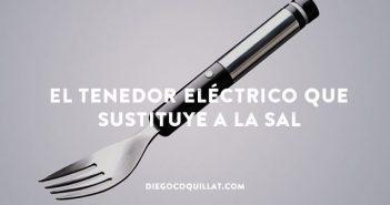 Los japoneses inventan un tenedor eléctrico con sabor a sal que podría salvar muchas vidas