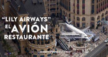 Se inaugura en China el primer restaurante situado en el interior de un avión